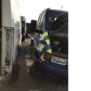 Iveco daily 2004 drivers door
