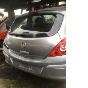 Vauxhall Corsa 2012 rear hatch