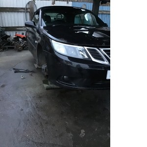 Saab convertible 9-3 2008 drivers side head light